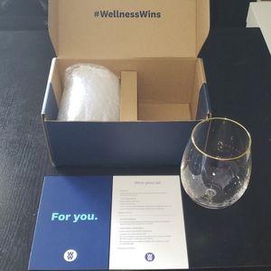 Weight Watchers Glass Wine Glass Set